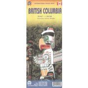 British Columbia térkép ITM 1:1250 000