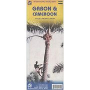 Gabon térkép ITM 1:1 000 000  Cameroon térkép