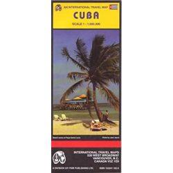 Cuba térkép, Kuba térkép ITM 1:1 000 000