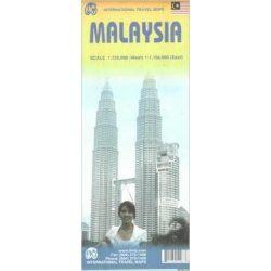 Malaysia térkép ITM 2012 1:750 000,1:1 100 000