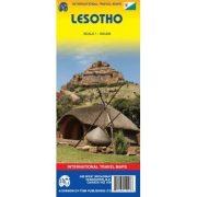 Lesotho térkép ITM 1:350 000