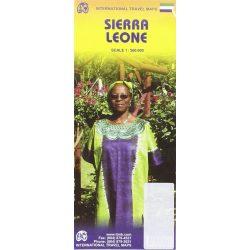 Sierra Leone térkép ITM 1:560 000