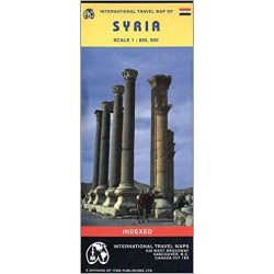 Szíria térkép ITM  1:850 000