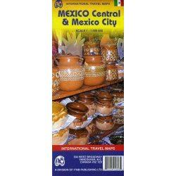 Mexico várostérkép ITM 1:12 500 Mexikó térkép