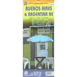 Buenos Aires térkép Argentina térkép ITM vízálló 1:12 500  1:2 200 000