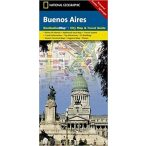 Buenos Aires térkép Borch Map 1: 1 750 000