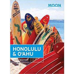 Honolulu & Oahu útikönyv Moon, angol (8th ed)