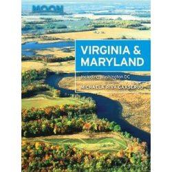 Virginia & Maryland útikönyv Moon, angol (Second Edition) : Including Washington DC
