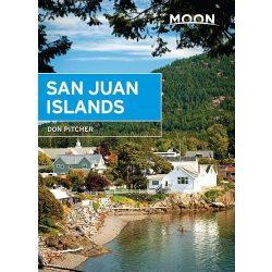 San Juan Islands útikönyv Moon, angol (Fifth Edition) : Best Hikes, Local Spots, and Weekend Getaways