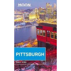 Pittsburgh útikönyv Moon, angol (Fourth Edition)