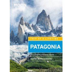 Patagonia útikönyv Moon, angol (Fifth Edition) : Including the Falkland Islands