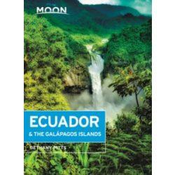 Ecuador & the Galapagos Islands útikönyv Moon, angol (Seventh Edition)