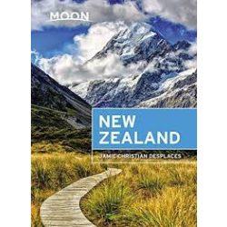 New Zealand útikönyv Moon, angol (First Edition)
