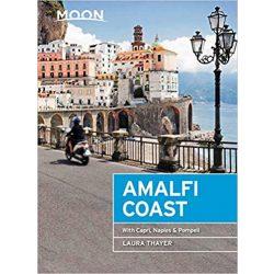 Amalfi Coast útikönyv Moon, angol (First Edition) : With Capri, Naples & Pompeii