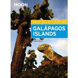 Galapagos Islands útikönyv Moon, angol (Third Edition)