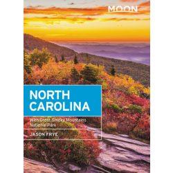 North Carolina útikönyv Moon, angol (Seventh Edition) : With Great Smoky Mountains National Park