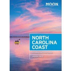 North Carolina Coast útikönyv Moon, angol (Third Edition) : Including the Outer Banks