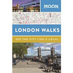 London útikönyv, London Walks útikönyv Moon, angol
