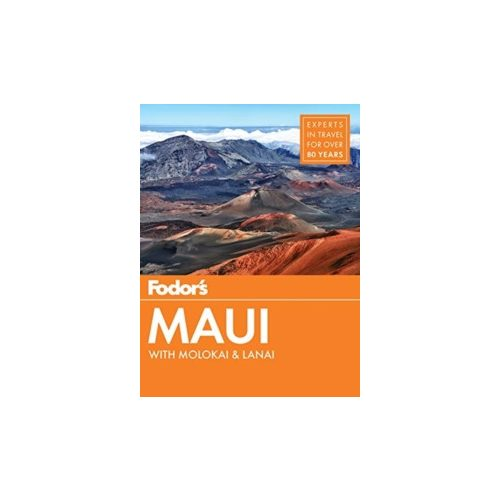 Maui útikönyv Fodor's Guide, angol 2018