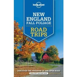 Road Trips Lonely Planet New England Fall Foliage New England útikönyv angol