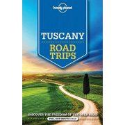 Road Trips Lonely Planet Tuscany útikönyv angol Toszkána útikönyv 2016