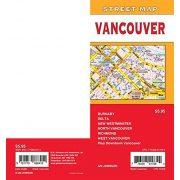 Vancouver térkép GM Johnson 1:31 250