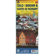 Oslo térkép ITM, Oslo, Bergen térkép 1:10 000 & Southern Norway