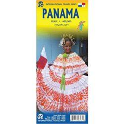 Panama térkép ITM 1: 400 000