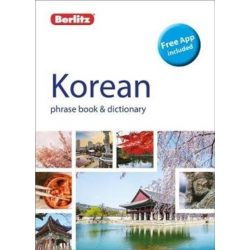 Berlitz koreai szótár Korean Phrase Book and Dictionary