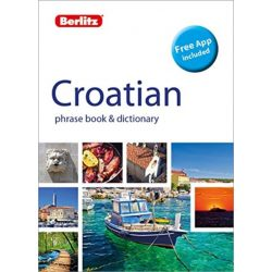 Berlitz horvát szótár Phrase Book & Dictionary Croatian, Bilingual dictionary 2019