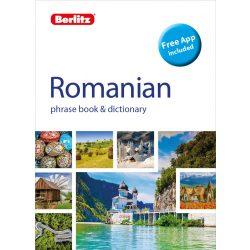 Berlitz román szótár Romanian Phrase Book & Dictionary 2019