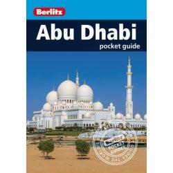 Abu Dhabi útikönyv Berlitz Pocket Guide 2017 angol