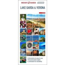 Lake Garda & Verona 1:80 000 Verona térkép Insight Flexi Map   2016