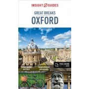 Oxford  útikönyv, Great Breaks Oxford Travel Guide with free eBook, Insight Guides angol 2016