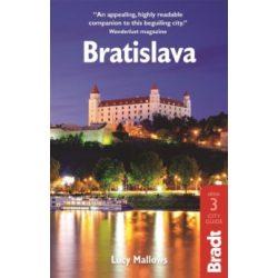 Pozsony útikönyv Bradt Guide angol 2016, Bratislava útikönyv