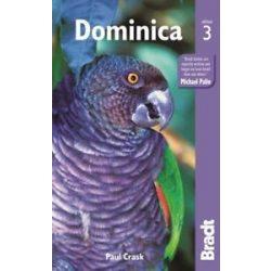 Dominika útikönyv, Dominica Bradt Guide  2016  angol Dominikai Közösség útikönyv
