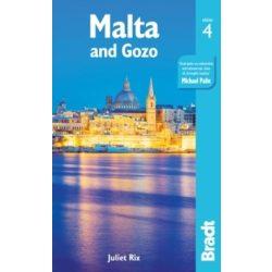Malta Gozo útikönyv Bradt 2019 - angol