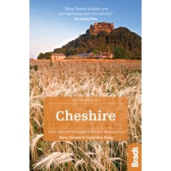 Cheshire útikönyv, Local, characterful guides to Britain's Special Places Bradt Guide, angol 2018