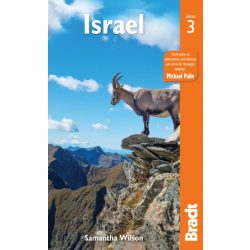 Israel útikönyv, Israel Guide, Izrael útikönyv Bradt 2018 angol