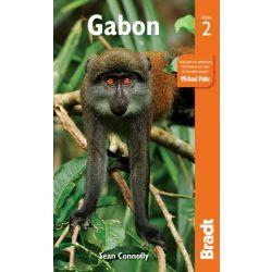 Gabon útikönyv Bradt Travel Guides 2019 - angol