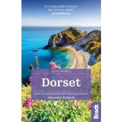 Dorset útikönyv Bradt Guide, angol 2019