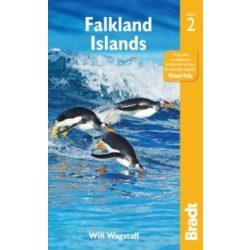 Falkland Islands útikönyv, Falkland-szigetek útikönyv Bradt 2018 angol