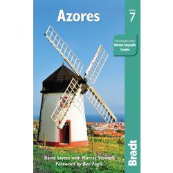 Azori-szigetek útikönyv, Azores útikönyv Bradt 2019 - angol Azori útikönyv