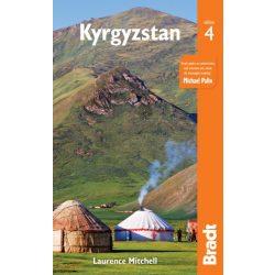 Kyrgyzstan útikönyv Bradt Guide, Kirgistan útikönyv, Kirgizisztán útikönyv angol 2019