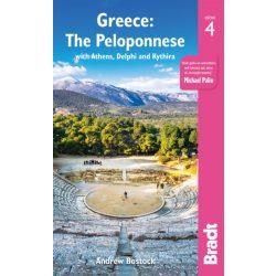 Greece Guide The Peloponnese : with Athens, Delphi and Kythira Görögország útikönyv Bradt 2019 - angol