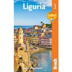 Liguria útikönyv Ligúr útikönyv Liguria Bradt Guide 2019 angol