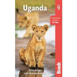 Uganda útikönyv Bradt 2019 - angol