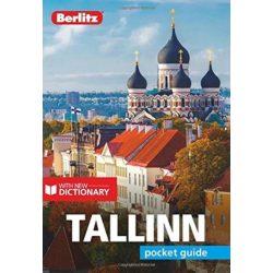 Tallinn útikönyv Berlitz Pocket Guide angol 2018