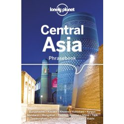 Lonely Planet Central Asia Phrasebook & Dictionary kazah kirgiz üzbég ujgur pastu szótár