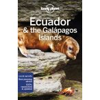 Ecuador & the Galapagos Islands útikönyv Lonely Planet 2018 Ecuador útikönyv